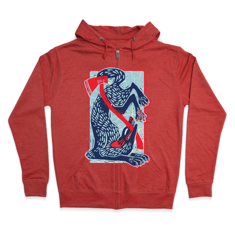 The Big Bad Wolf's Defeat Zip Hoodie