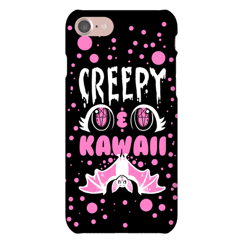 Creepy and Kawaii Phone Case