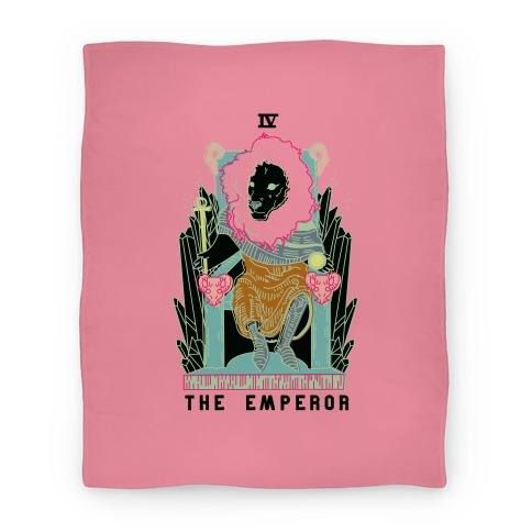 The Emperor Lion Blanket