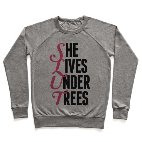 She Lives Under Trees Pullover