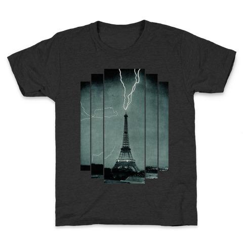 Lightning Strike (tank) Kids T-Shirt