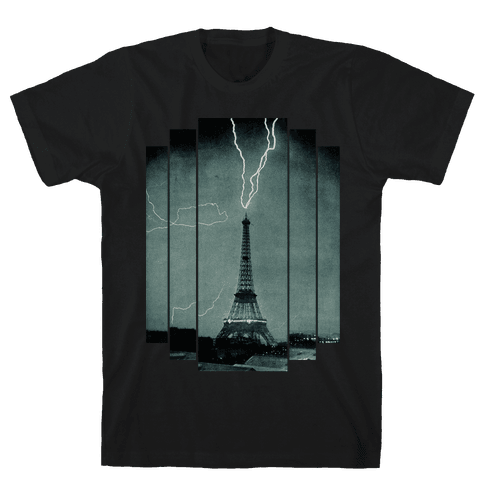 Lightning Strike (tank) Mens T-Shirt