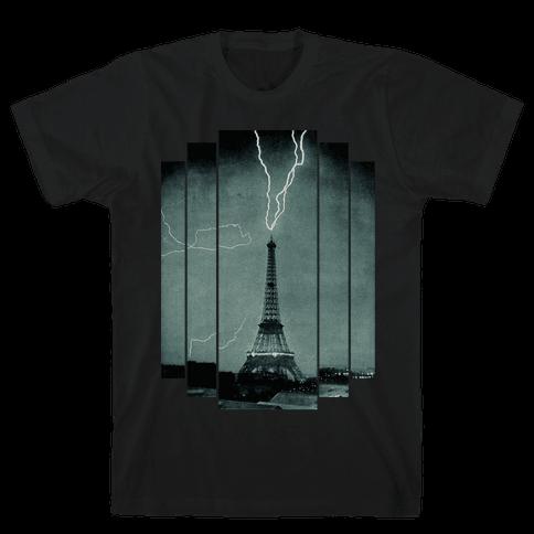 Lightning Strike (tank) Mens T-Shirt