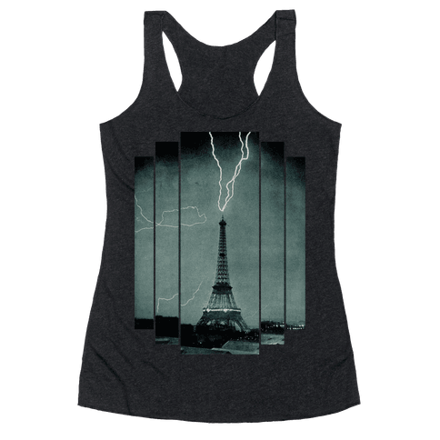 Lightning Strike (tank) Racerback Tank Top