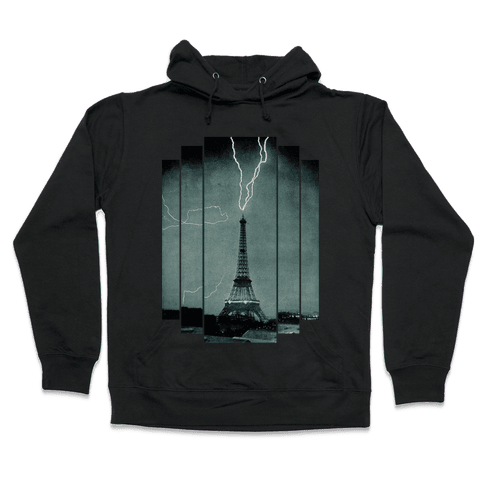 Lightning Strike (tank) Hooded Sweatshirt