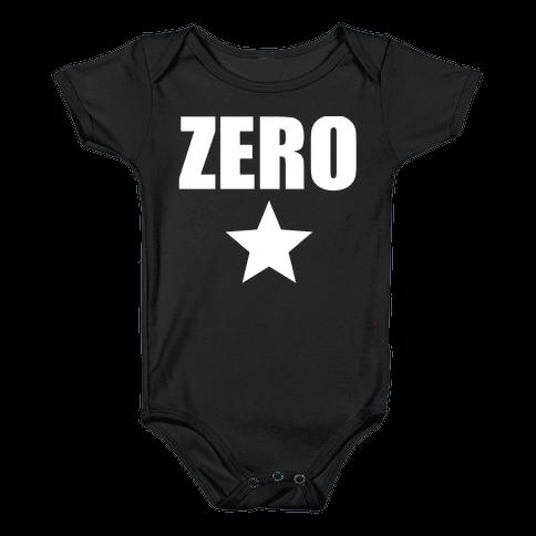 Zero Baby Onesy