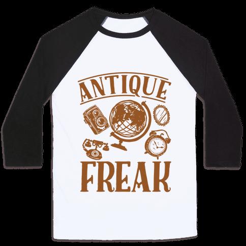 Antique Freak Baseball Tee