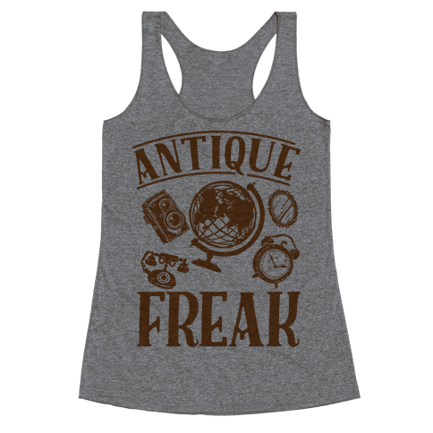 Antique Freak Racerback Tank Top