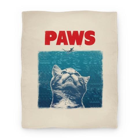 PAWS (JAWS Parody Blanket) Blanket