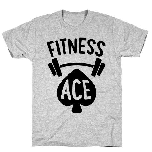 Fitness Ace Mens/Unisex T-Shirt