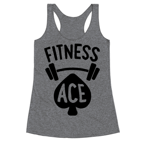 Fitness Ace Racerback Tank Top
