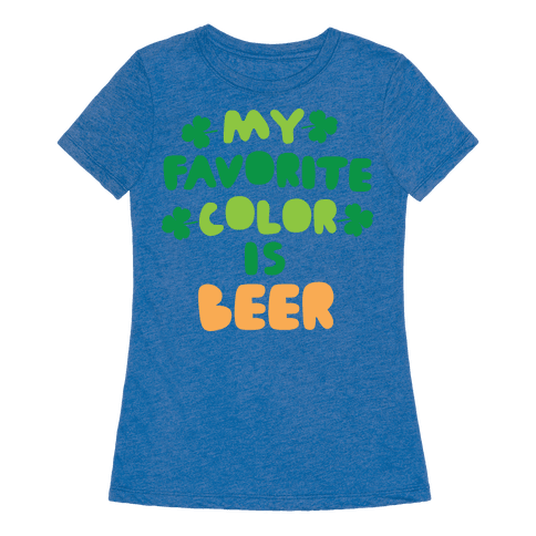 my favorite color is beer t shirt human. Black Bedroom Furniture Sets. Home Design Ideas