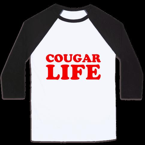 Cougar Life Baseball Tee