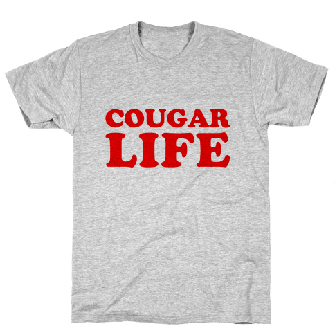 Cougar Life Mens T-Shirt