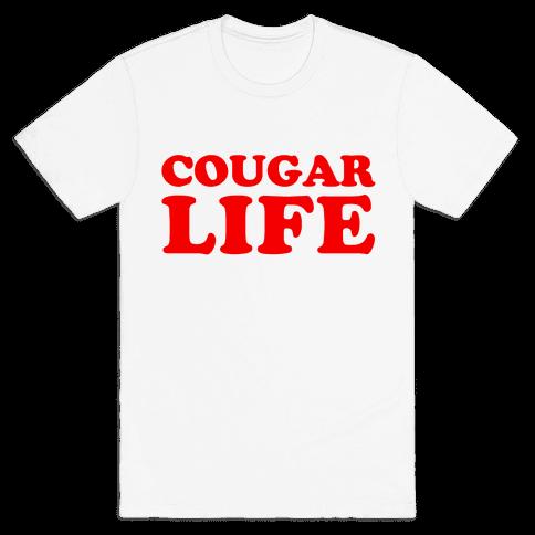 Cougar Life Mens T-Shirt