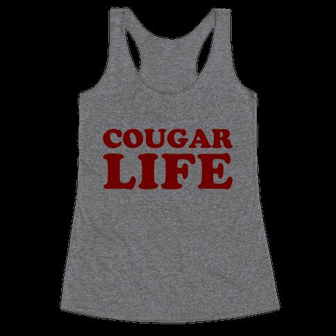 Cougar Life Racerback Tank Top