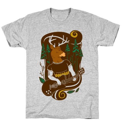 Rock and Roll Buck T-Shirt