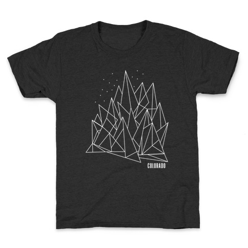 Colorado Mountains Kids T-Shirt