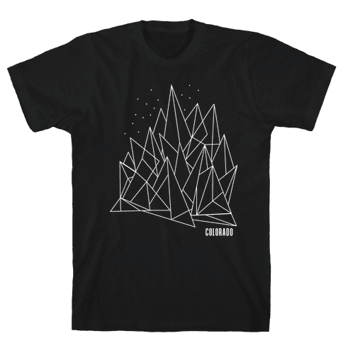 Colorado Mountains Mens T-Shirt