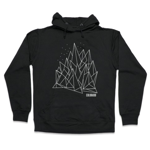 Colorado Mountains Hooded Sweatshirt