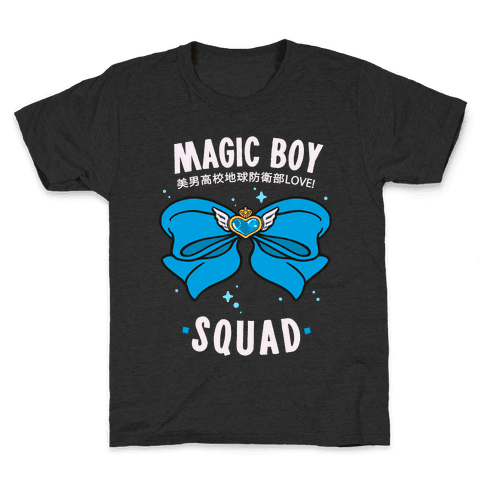 Magic Boy Squad (Blue) Kids T-Shirt