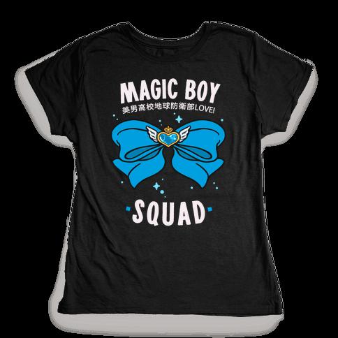 Magic Boy Squad (Blue) Womens T-Shirt