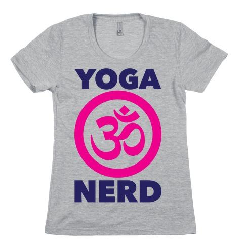 Yoga Nerd Womens T-Shirt