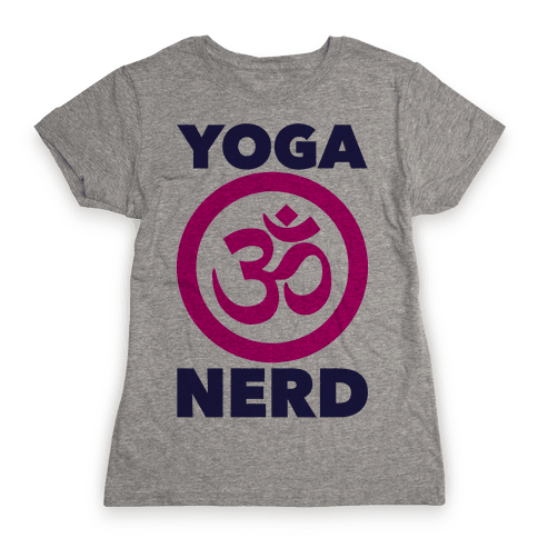 Yoga Nerd Womens T-Shirt