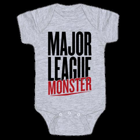 Major League Monster Baby Onesy