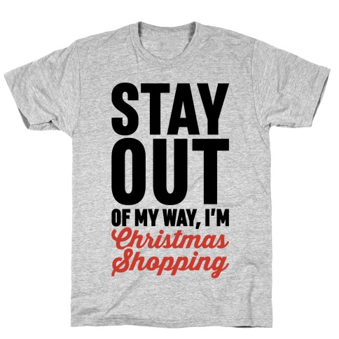 Christmas Shopping T-Shirt