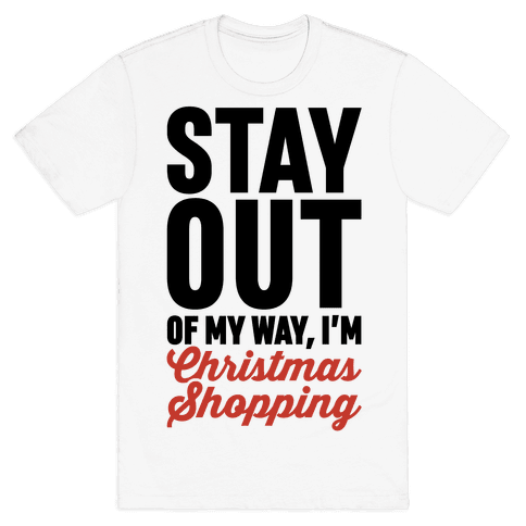 Christmas Shopping Mens T-Shirt