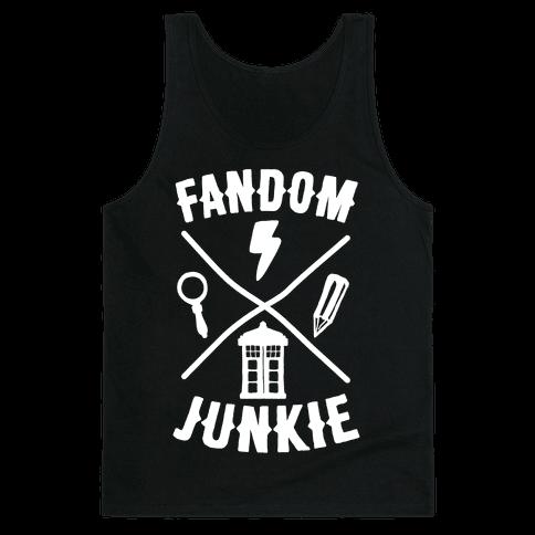 Fandom Junkie Tank Top