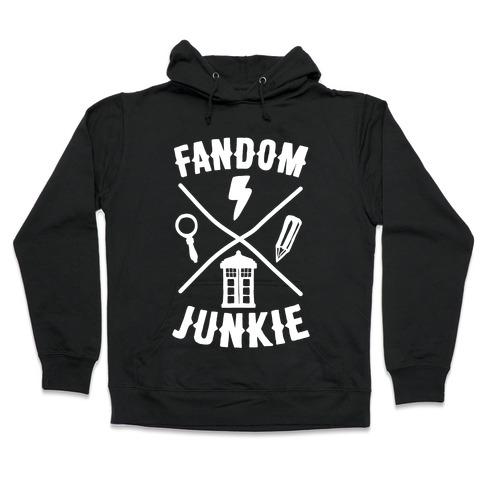 Fandom Junkie Hooded Sweatshirt