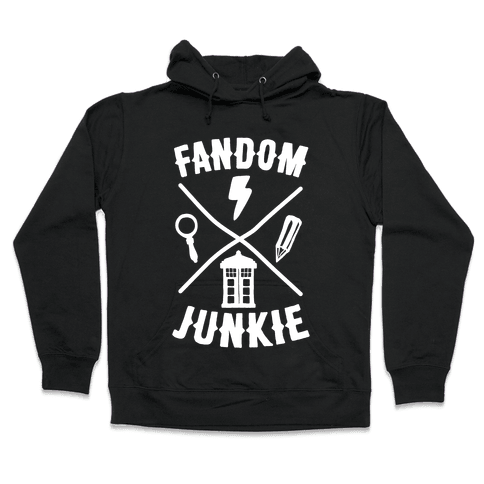 Fandom Junkie Hooded Sweatshirt