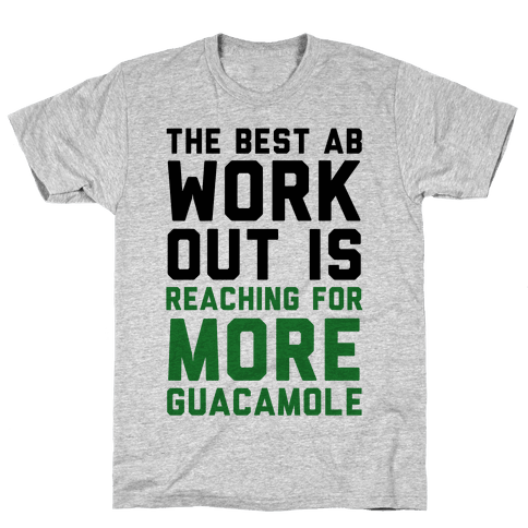 The Best Ab Work Out Mens T-Shirt