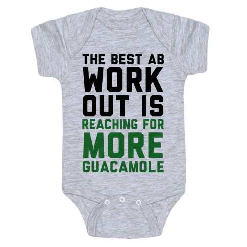 The Best Ab Work Out Baby Onesy