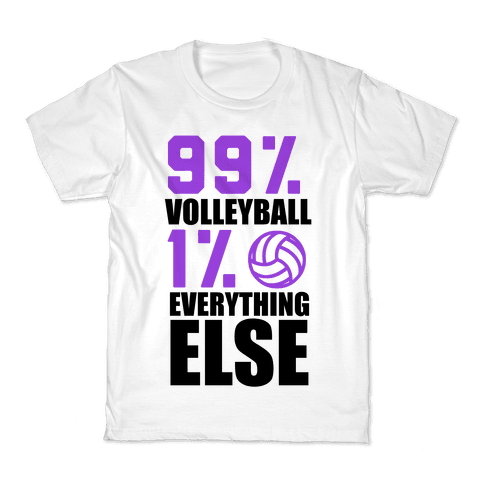 99% Volleyball Kids T-Shirt