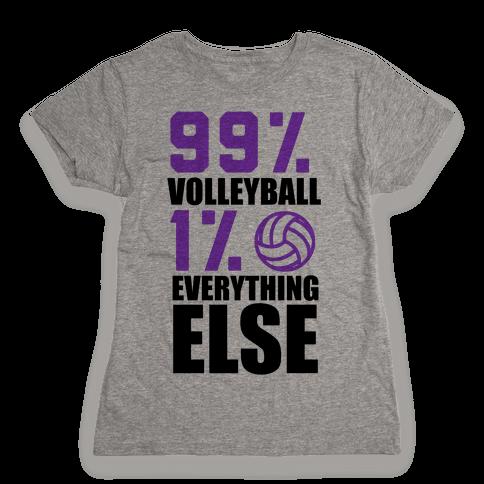 99% Volleyball Womens T-Shirt