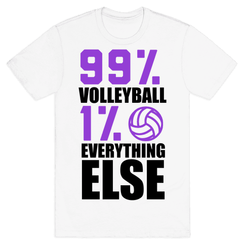 99% Volleyball Mens T-Shirt