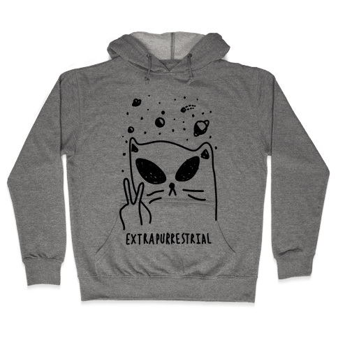 Extrapurrestrial Hooded Sweatshirt