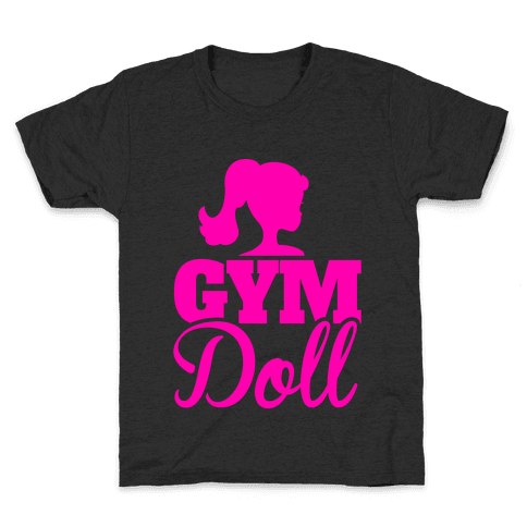 Gym Doll Kids T-Shirt