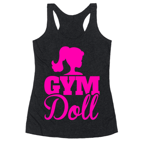 Gym Doll Racerback Tank Top