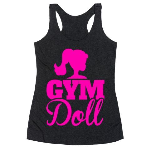 Gym Doll Racerback Tank Top