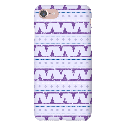 Aztec Zig Zag Pattern Case Phone Case