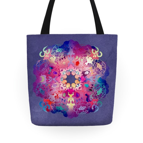 Colorful Yoga Tote