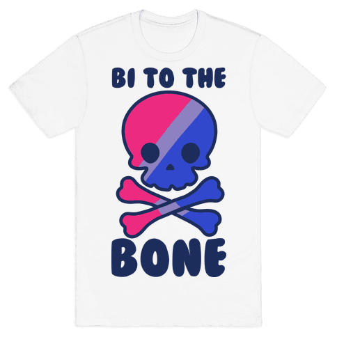 Bi to the Bone Mens T-Shirt
