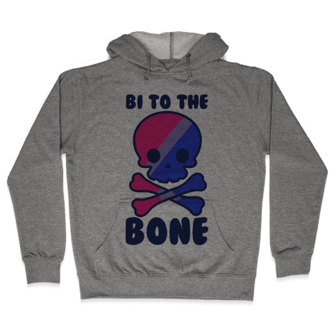 Bi to the Bone Hooded Sweatshirt