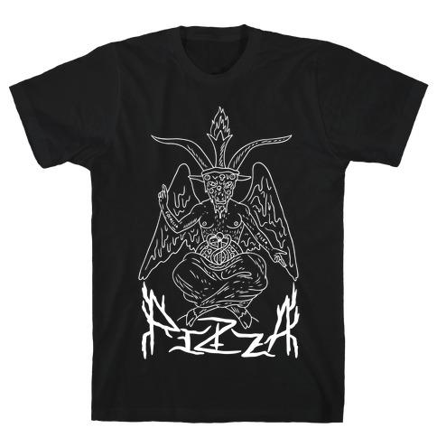 Pizza Baphomet T-Shirt
