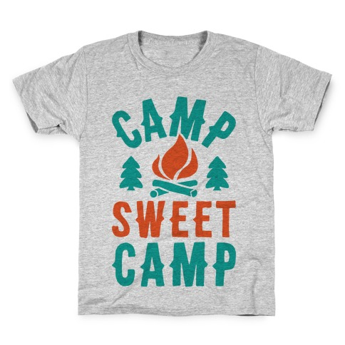 Camp Sweet Camp Kids T-Shirt