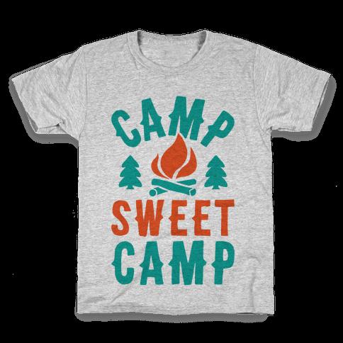 Camp Sweet Camp Kids T-Shirt